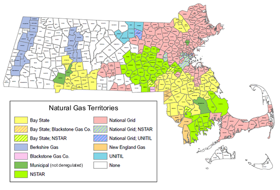 Energy company insurance Map