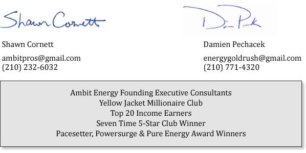 ambit energy pros signature