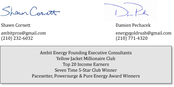 ambit energy pros signature